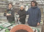 """Unter dem Titel """"Grüner Daumen in großer Runde"""" haben die Osnabrücker Nachrichten (ON) am 10.3. den Verein TomatOS e.V. und den neuen Gemeinschaftsgarten an der Bramscher Straße vorgestellt."""