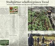NOZ-Artikel vom 5.4.2013 zu Urban Gardening in Osnabrück