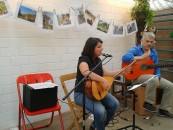 Kültür im Gewächshaus - deutsch-türkischer Nachmittag mit Musik und Literatur: Emel Tugay und Edin Mujkanović