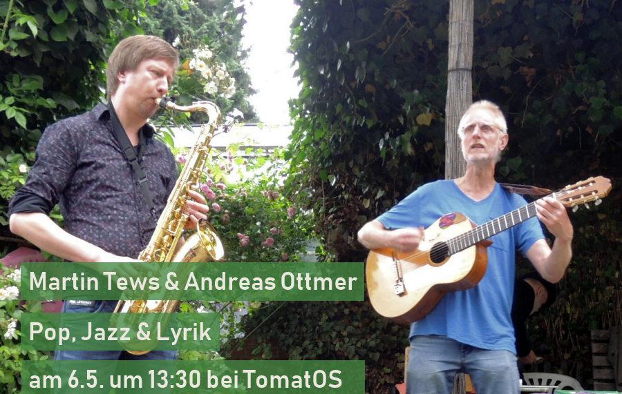 Andreas Ottmer und Martin Tews bei TomatOS
